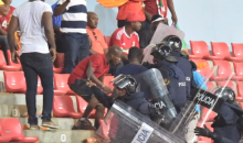 "Equatorial Guinea Fans Turn Africa Cup of Nations Semifinal Into ""War Zone"" (Pics + Videos)"