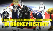 9 Greatest Ceremonial Puck Drops in Hockey History