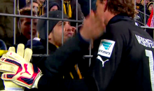 Players Beg Forgiveness from Livid Borussia Dortmund Fans So They Won't Storm the Field After Loss (Video)