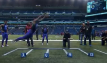 UConn Cornerback Byron Jones Just Set World Record in the Broad Jump at the NFL Combine (Videos)