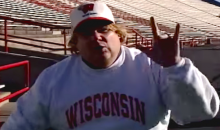 Wisconsin Football Dug Up an Old Chris Farley Recruitment Video, and It's Fantastic (Video)