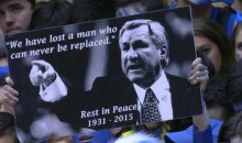 Duke Held a Touching Dean Smith Tribute Before Their Game Against North Carolina (Pics + Video)