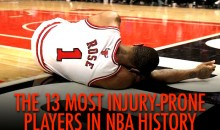 The 13 Most Injury-Prone Players in NBA History