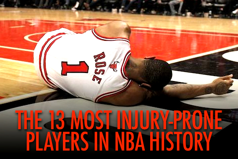 The 13 Most Injury-Prone Players in NBA History | Total Pro Sports