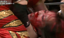 Female Japanese Wrestler Decides to Stop Faking It, Beats Opponent to Bloody Pulp (Graphic Video)