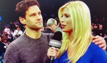 Pretty Sure Justin Bartha Wants to Have a Three-Way with Bradley Cooper and Knicks Reporter Jill Martin (Video)