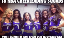 18 NBA Cheerleading Squads You Should Follow on Instagram