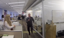 NFL Commish Roger Goodell Runs the 40 at Work for the #RunRichRun Campaign (Video)