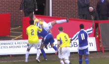 Soccer Body Slams May Be Awesome, But They're Still Technically Illegal. FYI. (Video)