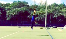 Stefon Diggs Shows Off One-Handed Catches That Rival Those of Odell Beckham Jr. (Video)