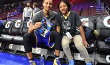 Steph Curry Got Himself a Mo'ne Davis Autograph Before the Warriors-Sixers Game (GIF)