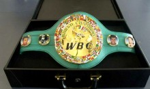 They're Making a Very Special WBC Title Belt for the Historic Mayweather-Pacquiao Fight
