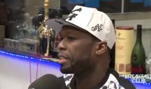 50 Cent Says Mayweather Will 'Smoke' Pacquiao, Betting $1.6M On It (Video)
