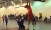 Watch This 11-Year-Old 5th-Grade Girl Dunk During a Game (Video)