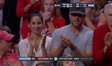 Aaron Rodgers and Olivia Munn Watch Wisconsin Win (Pics + Video)