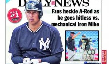 A-Rod Already Taking Heat From 'NY Daily News' After Going 0-For-2 Vs. Pitching Machine