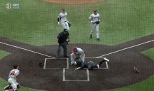 This Play at the Plate From the Arkansas-Vandy Game Will Amaze You (Video)