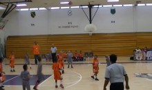 3rd Grader Hits No-Look, Backwards, Buzzer-Beating 3-Pointer (Video)