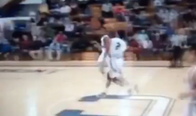 Behind the Back Alley-Oop. From Halfcourt. By Jalen Adams. That's All. (Video)