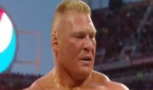 "Brock Lesnar to Roman Reigns During WrestleMania 31: ""Suplex City, B*tch"" (Video)"
