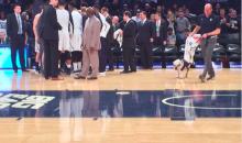 Butler Bulldog Pukes on Arena Floor As an Omen of Things to Come (Pics)