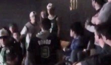 Celtics Fan Stabbed During Brawl In The TD Garden Stands (Video)