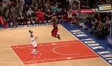 DeMar DeRozan Attempts 360 Dunk vs. Knicks, Misses (Video)