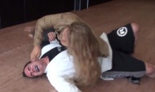 Dude Challenges Ronda Rousey To a Fight, Gets His Ribs Broken (Video)