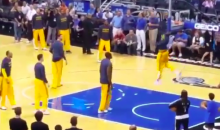Dunk Contest Breaks Out During Cavs' Pregame Shootaround (Video)