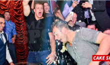 GRONK SMASH!: Gronkowski Vegas Trip Ends with a Cake on the Head (Video)
