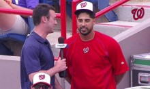 Gio Gonzalez Gets 10 'Meows' in During a Spring Training Interview (Video)