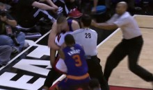 Wrestling Match Breaks Out During Suns-Heat Game (Video)