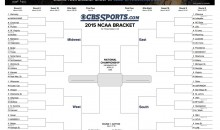 Here's The 2015 NCAA Tournament Bracket, Ready For Your Wild Guesses (Pic)