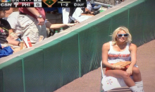 The Hooters Ball Girls for the Phillies Are at Very Different Skill Levels (Video)
