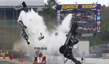 Hot Rod Driver Larry Dixon Somehow Survives Violent 280 MPH Crash (Pics and Video)