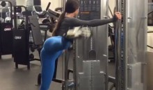 Jen Selter Leg Lifts Are a Beautiful Sight (Video)