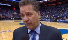 John Calipari References Communism During Halftime Interview (Video)