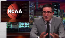 John Oliver Rant Tears Apart the NCAA and March Madness for 20 Minutes (Video)
