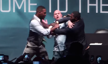 Jon Jones and Anthony Johnson Pull Awesome Prank on UFC President Dana White (Video)