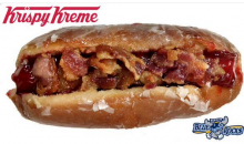 KC Minor League Affiliate Offers a Krispy Kreme Hot Dog…Disgusting (Pic)