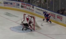 AHL Player Scores Incredible Backhand, Lacrosse-Style Goal (Video)