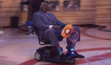 Kenny Smith Got a Mobility Scooter for His Bday, Which Shaq Stole (Video)