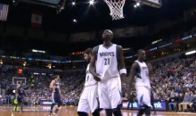 Kevin Garnett Ejected For Spiking Basketball (Video)