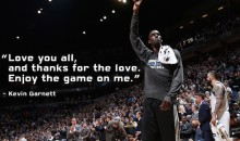 Kevin Garnett Gave Away $20K of T-Wolves Tickets for Last Night's Game