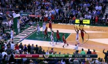 Bucks' Khris Middleton Hits Crazy Game-Winning 3 vs. Heat (Video)