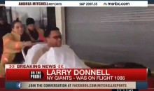 Larry Donnell Imposter Fools MSNBC Following Crash at LaGuardia (Video)