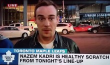 Leafs Fan Slips in a 'FHRITP' in the Smoothest Way Possible (Video)