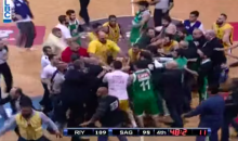 Lebanese Basketball Game Turns Ugly with Giant On-Court Brawl (Video)