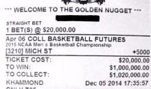 Michigan Alum's Michigan State Bet Could Pay $1-Million