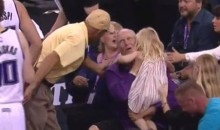 Watch Paul Pierce Push Omri Casspi Into a Little Girl (Video)